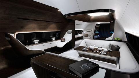 Anlässlich der EBACE 2015, die vom 19. bis 21. Mai 2015 in Genf stattfindet, haben Mercedes-Benz Style und Lufthansa Technik eine Kooperation beim Design und der Ausstattung von VIP-Flugzeugkabinen bekannt gegeben. Die beiden Unternehmen mit Lufthansa Technik und Mercedes-Benz Style entwickeln gemeinsam ein völlig neuartiges, luxuriöses und ganzheitliches Kabinenkonzept für Kurz- und Mittelstreckenflugzeuge. Dynamische Architektur …