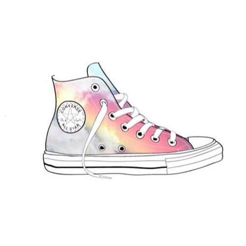 Pink converse wallpaper