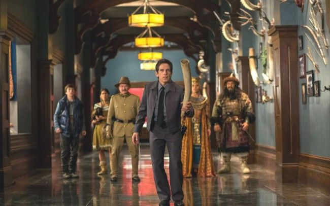 Night at the Museum The Secret of the Tomb: Writing for Ben Stiller and Robin Williams