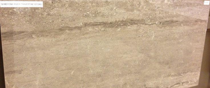 Eleganza Gemstone River Travertine In Beige Tile Works