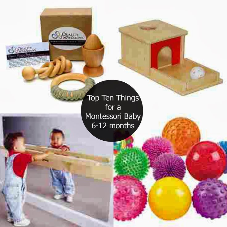The Montessori on a Budget blog: Top 10 things for a Montessori baby 6month - 1 year
