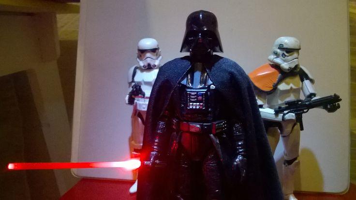 Darth Vader Black Series Custom 05