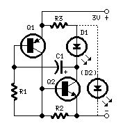 How to build LED or Lamp Flasher (circuit diagram)