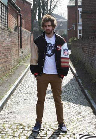 Jeff Hamilton San Fran 49ers Jacket  £80