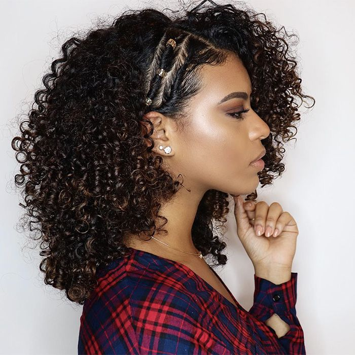 Side Swept Curls Hairstyles Naturallycurly Com Curly Hair Styles Naturally Mixed Curly Hair Curly Hair Styles