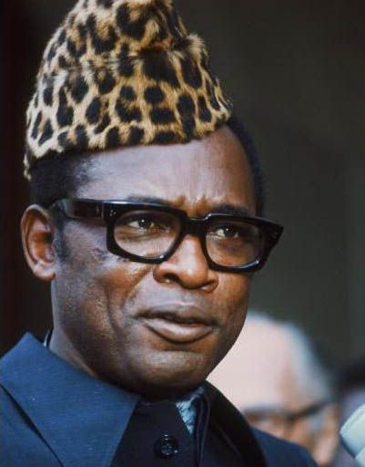 Mobutu Sese Seko Kuku Ngbendu wa Za Banga, President, Democratic Republic of the Congo 1965-1997