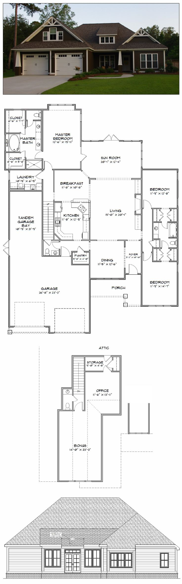 19 best House Plans 2000-2800 sq ft images on Pinterest | Home ...