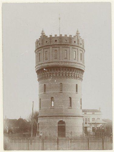 Geschiedenis van Vlaardingen - De watertoren aan de Emmastraat