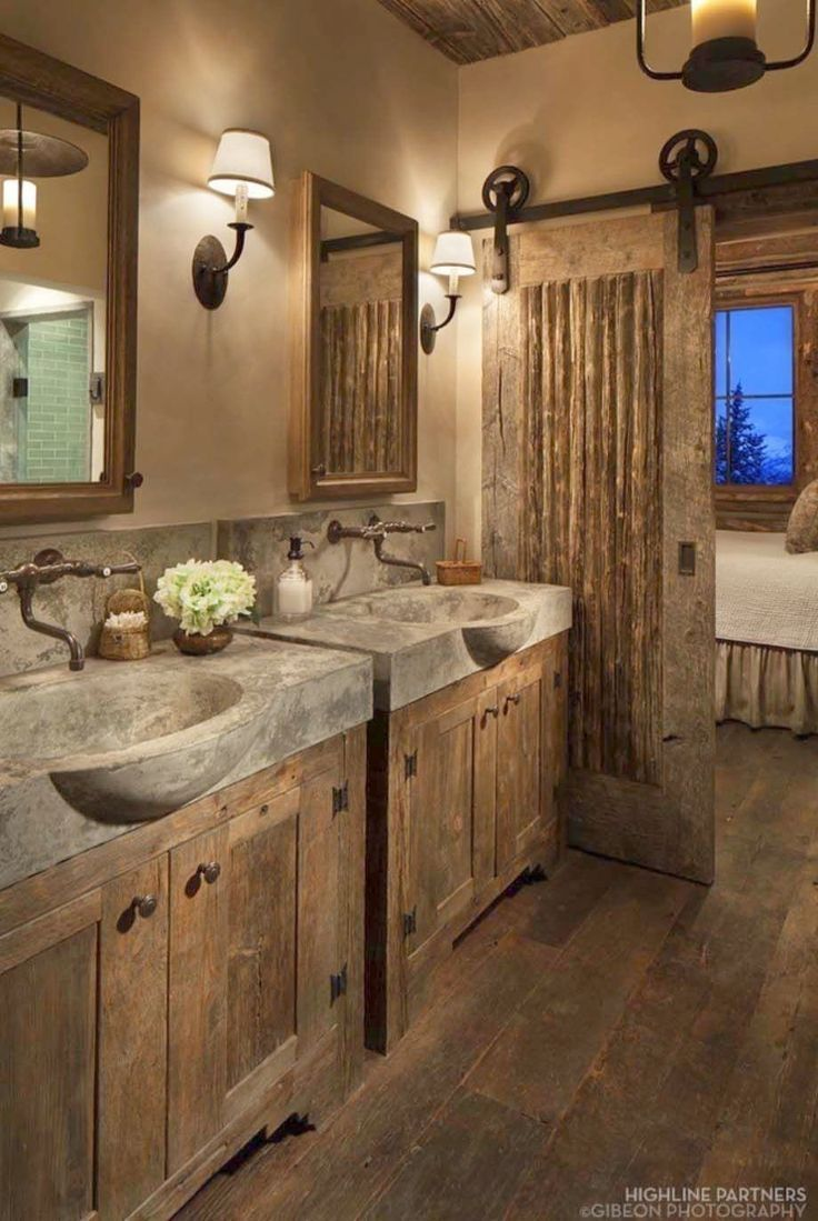 Rustic Bathroom Chandelier Country Bathroom Ideas Pinterest