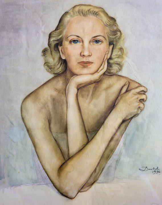 Edita Morris, 1936 Nils Dardel