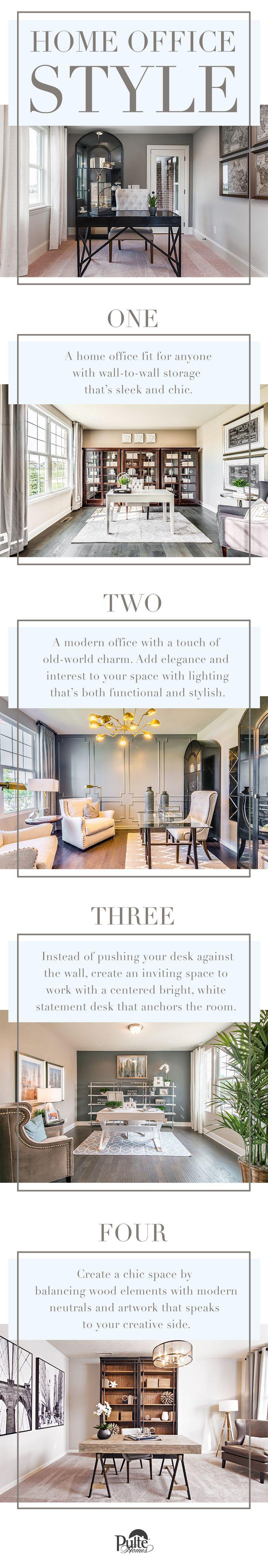 46 best Home | Office images on Pinterest | Desk, Parsons desk and ...