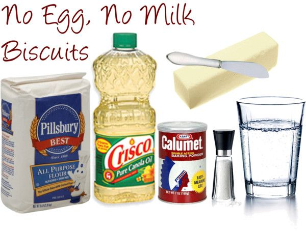 The Lovely Side: Easy No Egg, No Milk Biscuits