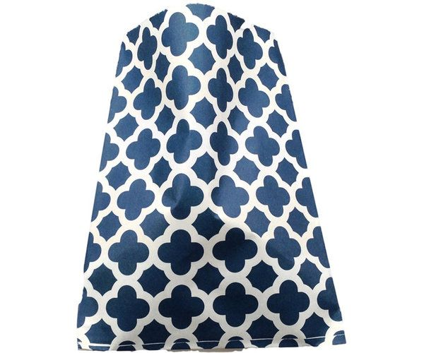 24Pk Navy Paisley Lolly Bags