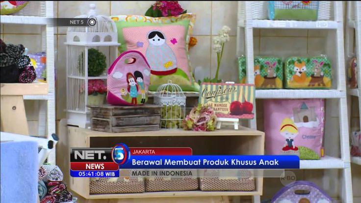 Made In Indonesia Kreasi perca tembus pasar dunia - NET5