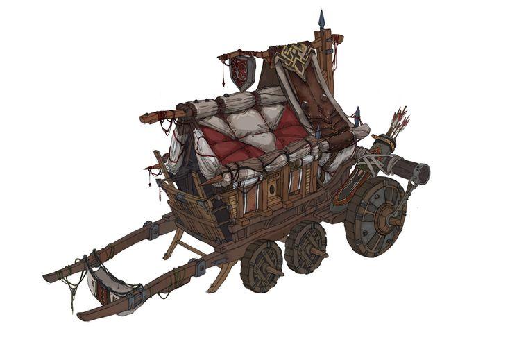 ArtStation - armor merchant's wagon, you jeong Cho