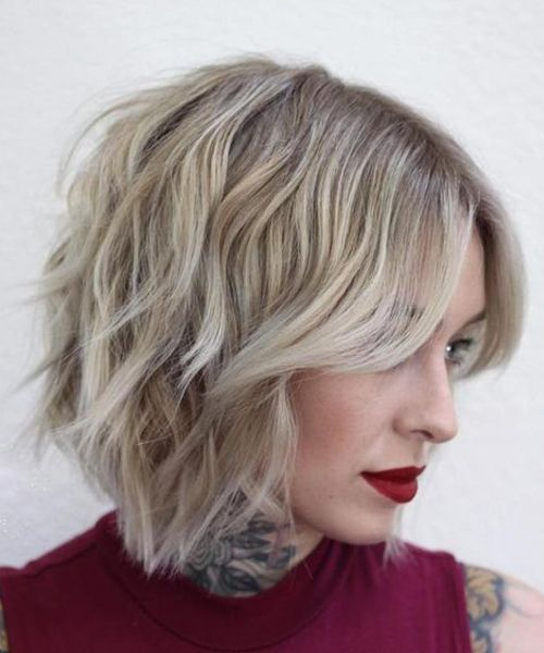Ideal Short Choppy Hairstyles 2018 for Women to Super Gorgeous on Parties 528b23e0ff96