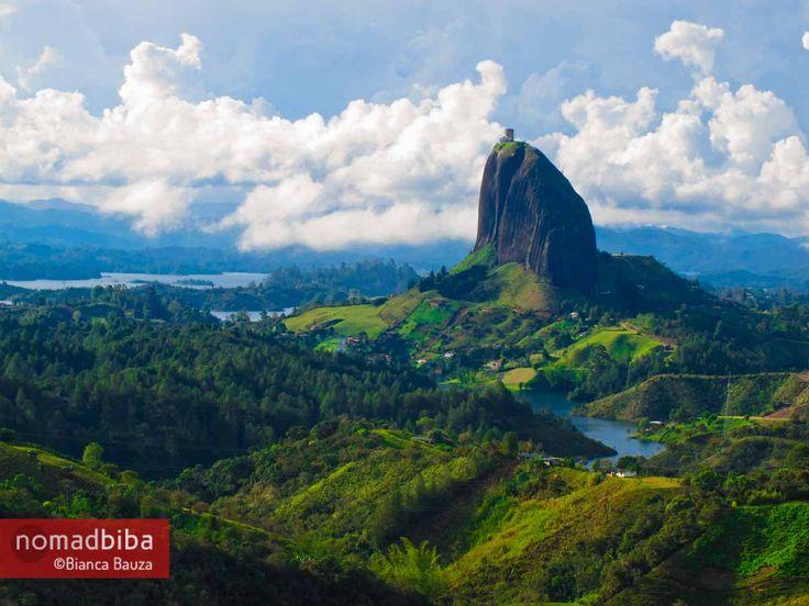 El Peñol in #Colombia http://nomadbiba.com/el-penol-colombia/