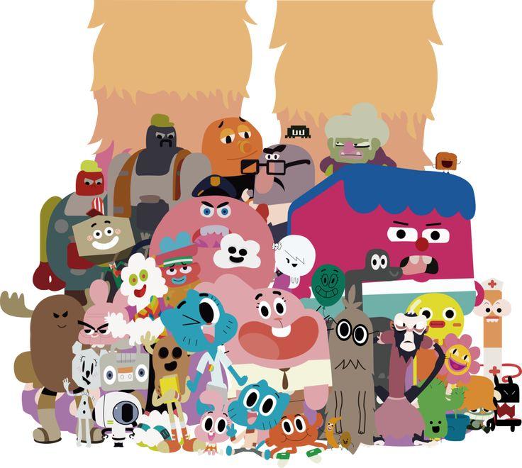 The Amazing World of Gumball - Elmore people by XxmorwullxX.deviantart.com on @DeviantArt