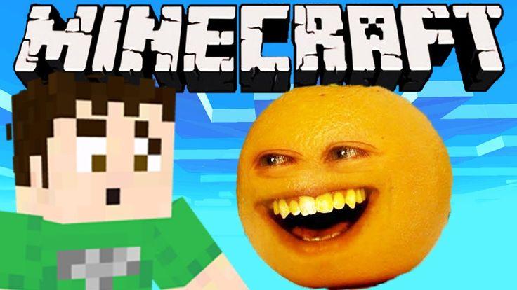 Minecraft - THE ANNOYING ORANGE