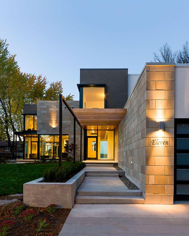 World of #Architecture: Amazing #House In Beautiful Canadian Neighborhood, #Ottawa | #worldofarchi #modern #contemporary