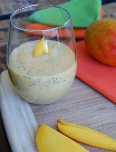 Resep Mango dan Chia Milkshake