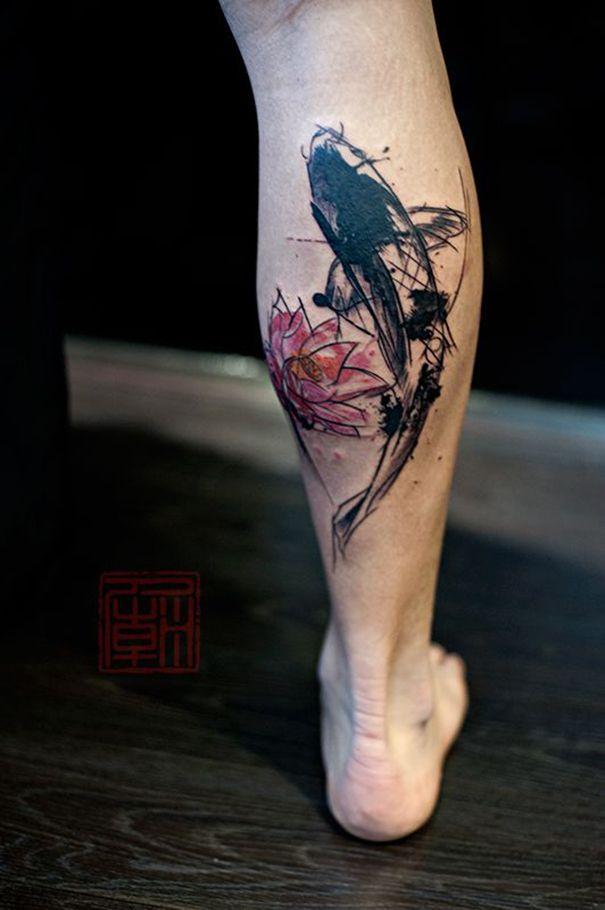 35 best koi fish tattoo ideas images on pinterest fish tattoos irezumi and japan tattoo. Black Bedroom Furniture Sets. Home Design Ideas