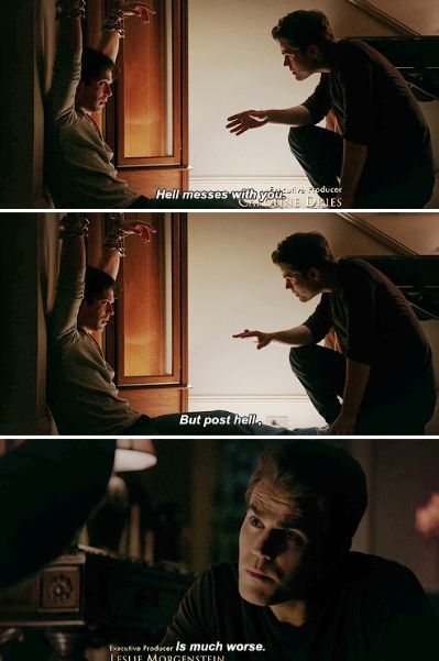 "#TVD 7x11 ""Things We Lost in the Fire"" - Damon and Stefan"