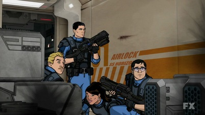 Most badass Archer episode yet... can't wait for the next episode! :D  Autres photos de Florian Rohrweck