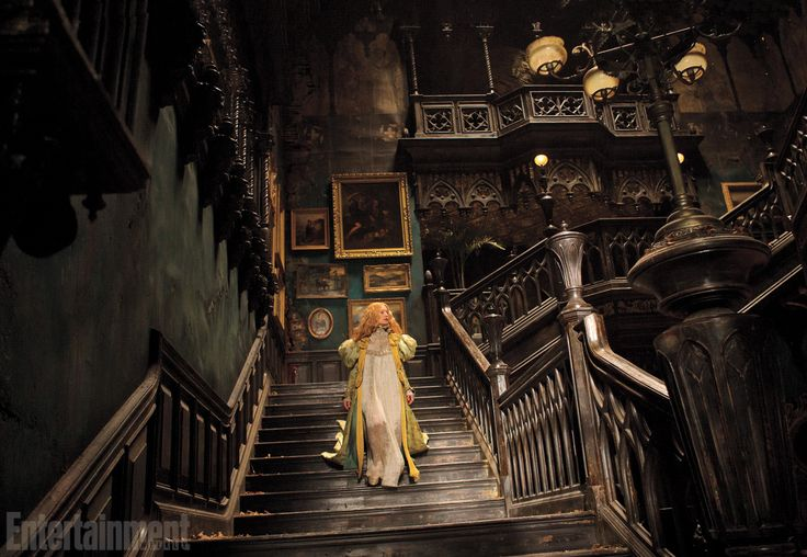 "Screened Out – Crimson Peak (**) ""Filled to the brim with sumptuous set decorations, special effects, and some nifty cinematography, Crimson Peak is all art and design. The conventional plot and familiar, two-dimensional characters have no possibility of raising our pulses, much less leaving us haunted."""