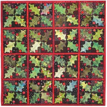 17 best images about quilts blackbird designs on for Christmas garden blackbird designs
