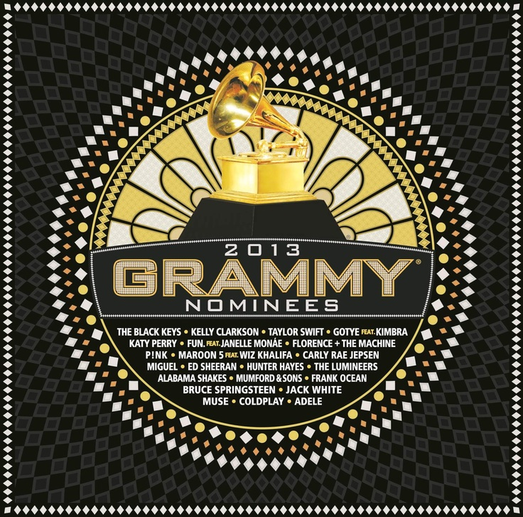 The 2013 GRAMMY Nominees album will be available Jan. 22! Click on the image for the full tracklisting!: 2013 Grammi, Music, Grammi 2013, Awards 2013, Grammi Awards, Grammi Nomine, 55Th Grammy, 55Th Grammi, 2013 Grammy