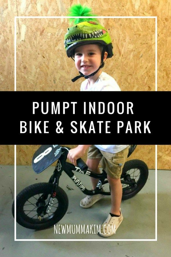 Things to do with the kids in Adelaide - Pumpt Indoor Bike & Skate Park