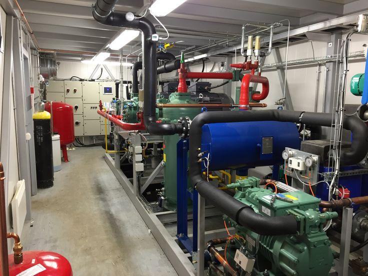 Lappi Areenan jäähallin Findri ICE NH3 ammoniakki koneisto.