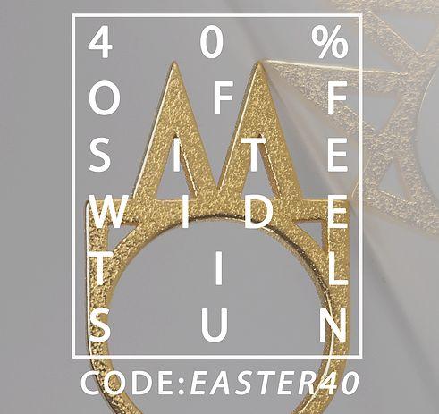 HAPPY EASTER! 40% OFF  WEBSITE-WIDE!  L A S T D A Y S U N D A Y ! www.janeandlisa.com  #eastersale #easter #sale #janeandlisa #customrings #jewelry #jewellerydesign #jewellery #jewelsoftheday #jewellerymaking #jewellerydesigner #gem #gems #graphics #dbsas #creativeyou