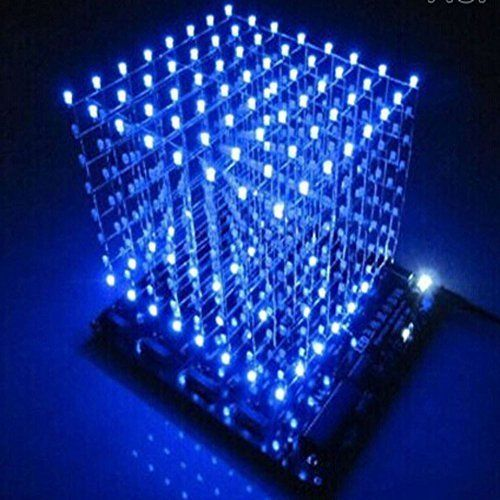 Gikfun 3D LightSquared DIY Kit 8x8x8 3mm LED Cube White LED Blue Ray EK1568 http://ift.tt/2iEOcFF
