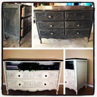 the devoted wife diy dresser to tv stand