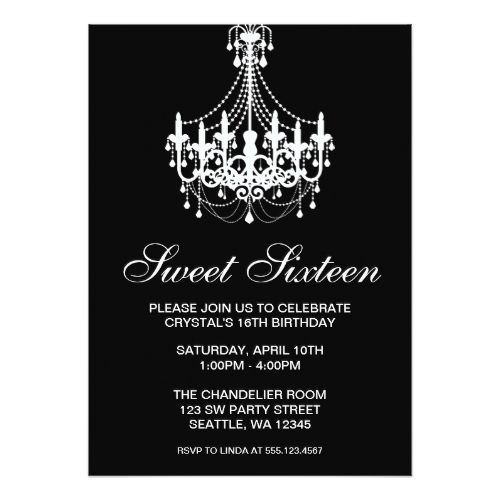 18 best Sweet 16 Invitation Templates images – Birthday Card Invitations Online