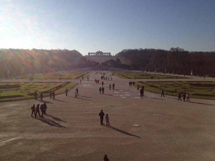Schonbrunn. Vienna