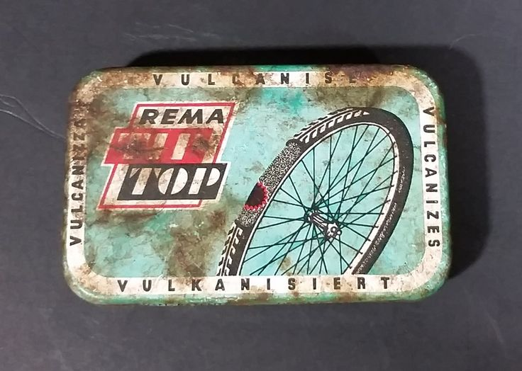 Vintage REMA Tip Top Vulkanisiert Rubber Patch Repair Tin - Rusted https://treasurevalleyantiques.com/products/vintage-rema-tip-top-vulkanisiert-rubber-patch-repair-tin-rusted #Vintage #REMA #TIP #Top #Vulkanisiert #Vulkanizers #Rubber #Patch #Bicycle #Tire #Cycling #Repair #Kit #Tins #VintageTins #Cyclists #Collectibles #Garage #Decor #BuyNow #VisitUs #OldTins