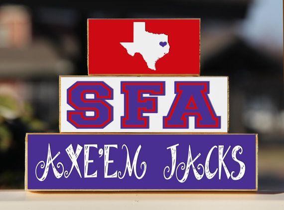 20 Best images about SFA...Axe 'Em Jacks!! on Pinterest ...