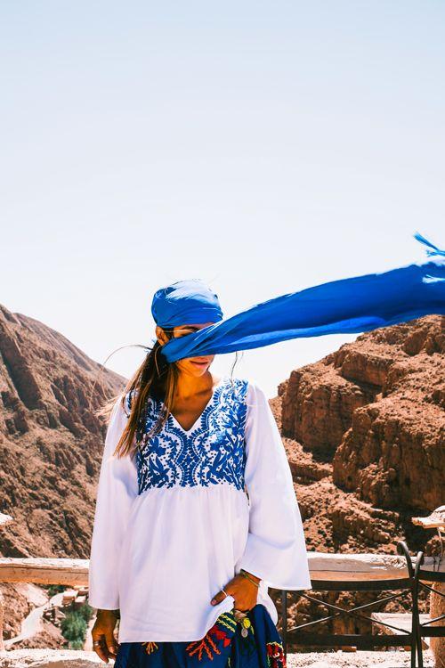 Ait Atta Embroidered Tunic via bakchic |  Women's Boho Clothing