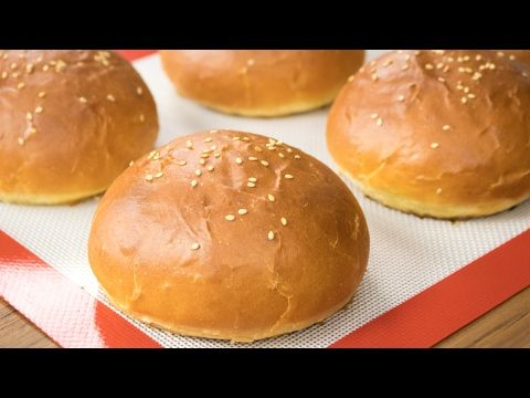 Burger Buns Recipe | Best Eggless Hamburger Buns | Super Soft Bakery Style Breads - YouTube