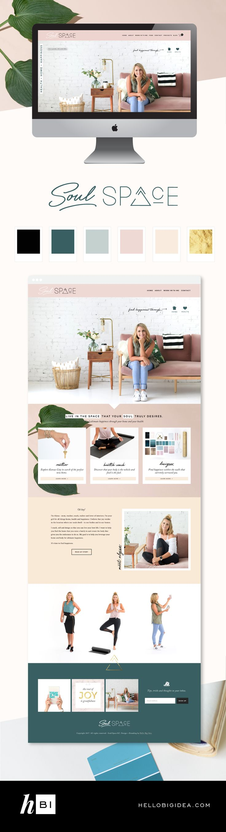 Website design on Squarespace A Total