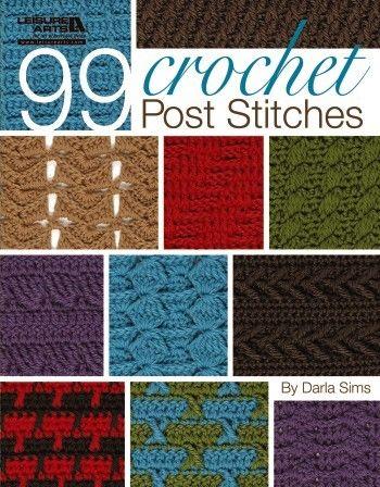 Crochet Stitches Hdc2tog : crochet #books @oombawkadesign reviewed 99 Crochet Post Stitches ...