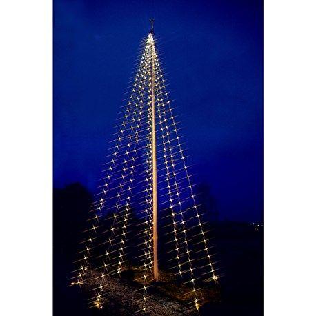 Flagstångsslys LED 12m butik jula i kallered tæt på gøteborg på vej til ullared  byggemarked