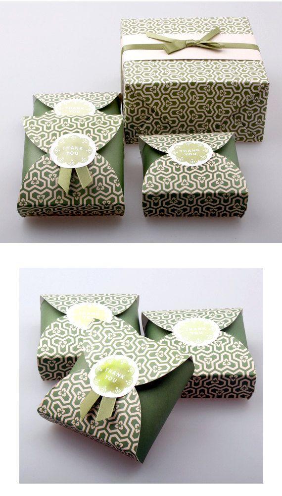 Bella carta di regalo  5 scatole nd010 di verryberrysticker