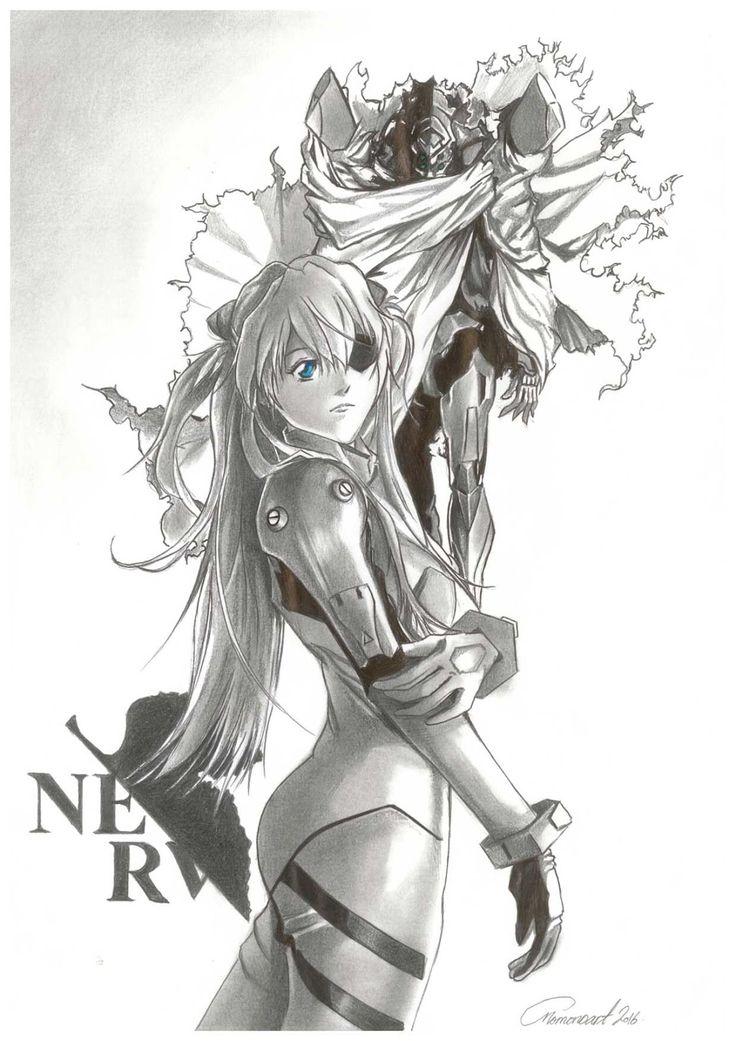 Asuka Langley and Eva unit 2