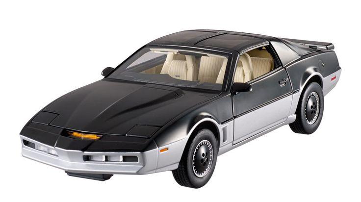 Vehículo Karr, El Coche Fantástico. Escala 1/18, Hot Wheels Cult Classic Collection, Mattel Réplica a escala 1/18 del vehículo KARR perteneciente a la serie de televisión El Coche Fantástico.