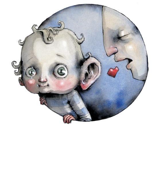 Lisa Aisato N'jie Solberg is the artist behind this fabulous picture. Love her work ♥