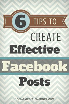 How and when you post on Facebook makes an important impact on how fans engage with your content. In this article you'll discover 6 ways to optimize your Facebook posting tactics.